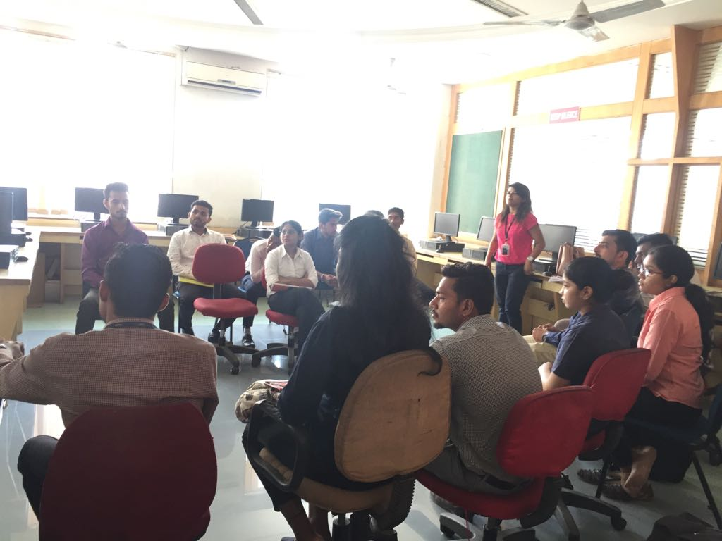 GDPI Sessions Conducted at GBSRC - College for MBA Students.